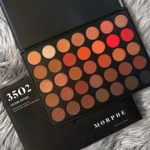 Morphe 3502 Second Nature Palette New